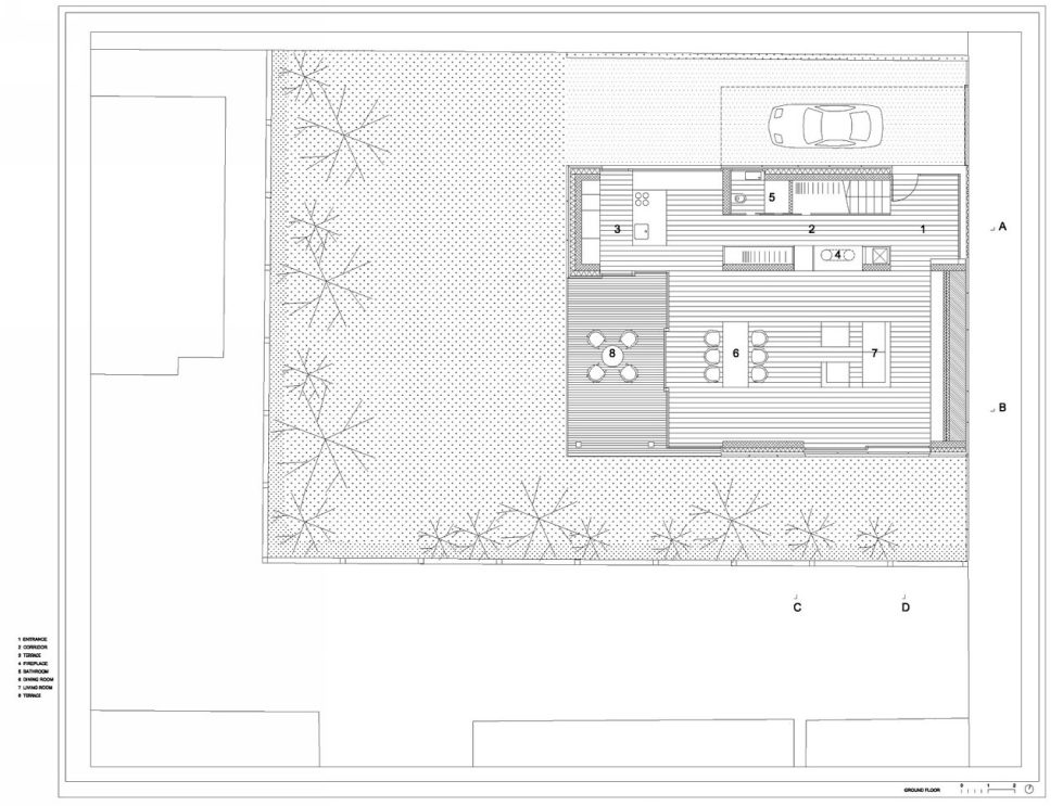 Villa Criss-Cross Envelope In Slovenia From OFIS Arhitekti - Plan 2