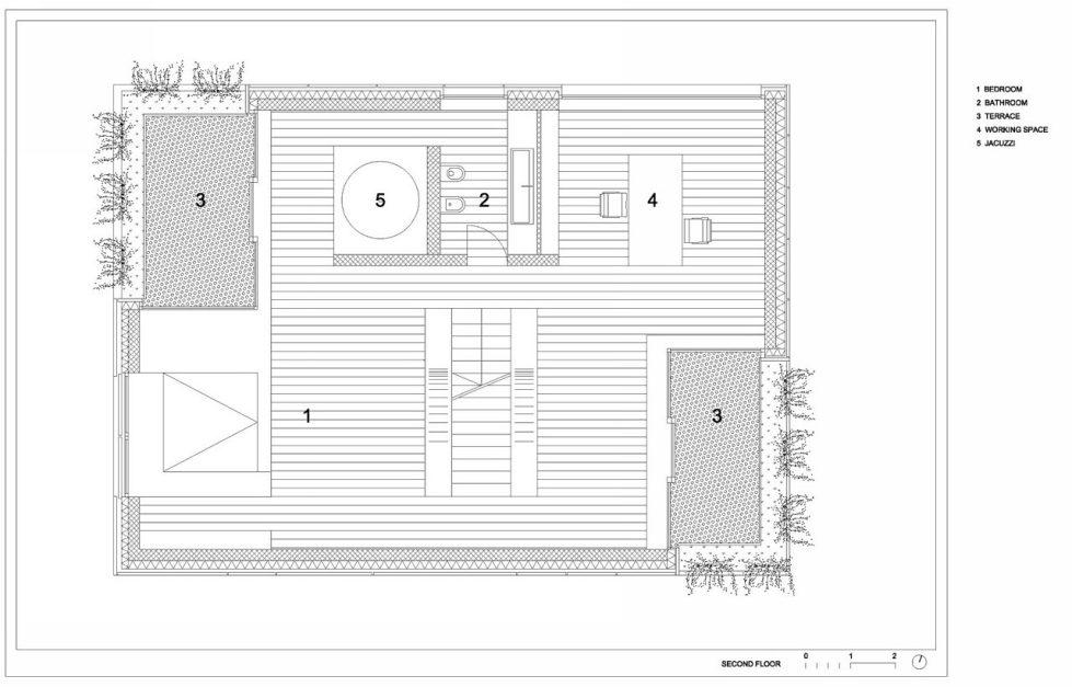 Villa Criss-Cross Envelope In Slovenia From OFIS Arhitekti - Plan 4
