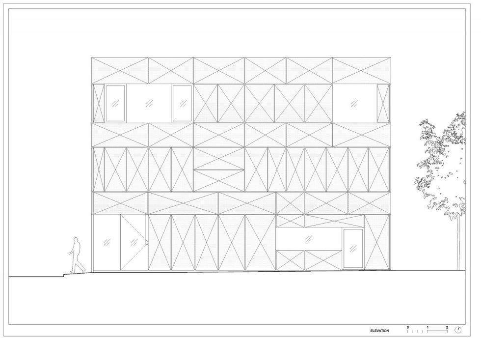 Villa Criss-Cross Envelope In Slovenia From OFIS Arhitekti - Plan 6