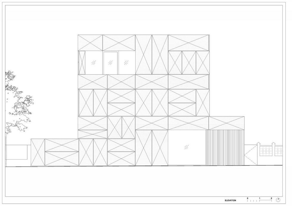 Villa Criss-Cross Envelope In Slovenia From OFIS Arhitekti - Plan 7