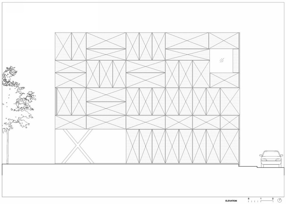 Villa Criss-Cross Envelope In Slovenia From OFIS Arhitekti - Plan 8