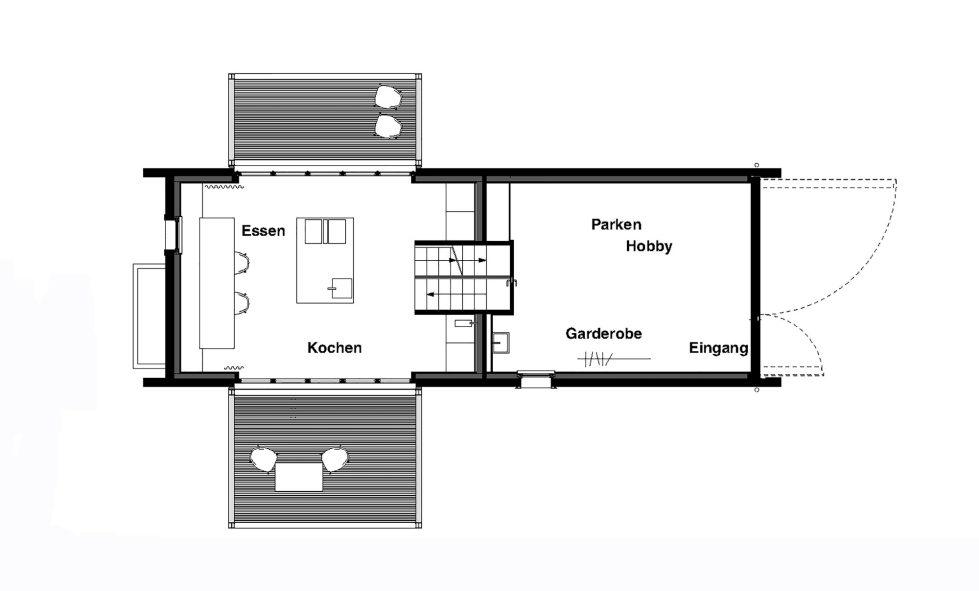 Wooden House At The Upper Bavaria From Arnhard und Eck Architekten Bureau - Plan 2