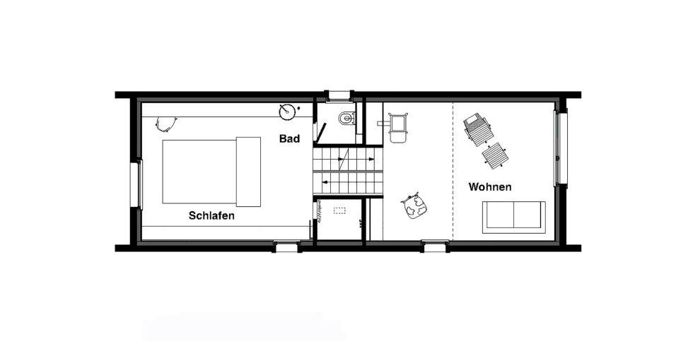 Wooden House At The Upper Bavaria From Arnhard und Eck Architekten Bureau - Plan 3