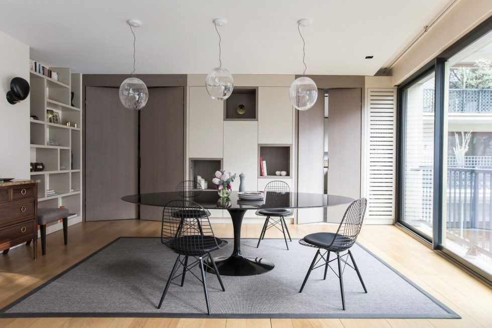 An apartment, also known as Victor Hugoin, in Paris by designer Camille Hermand 1