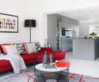 Bright stylish interior by LLI Design studio