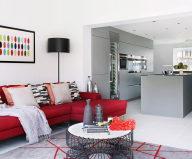 Bright stylish interior by LLI Design studio
