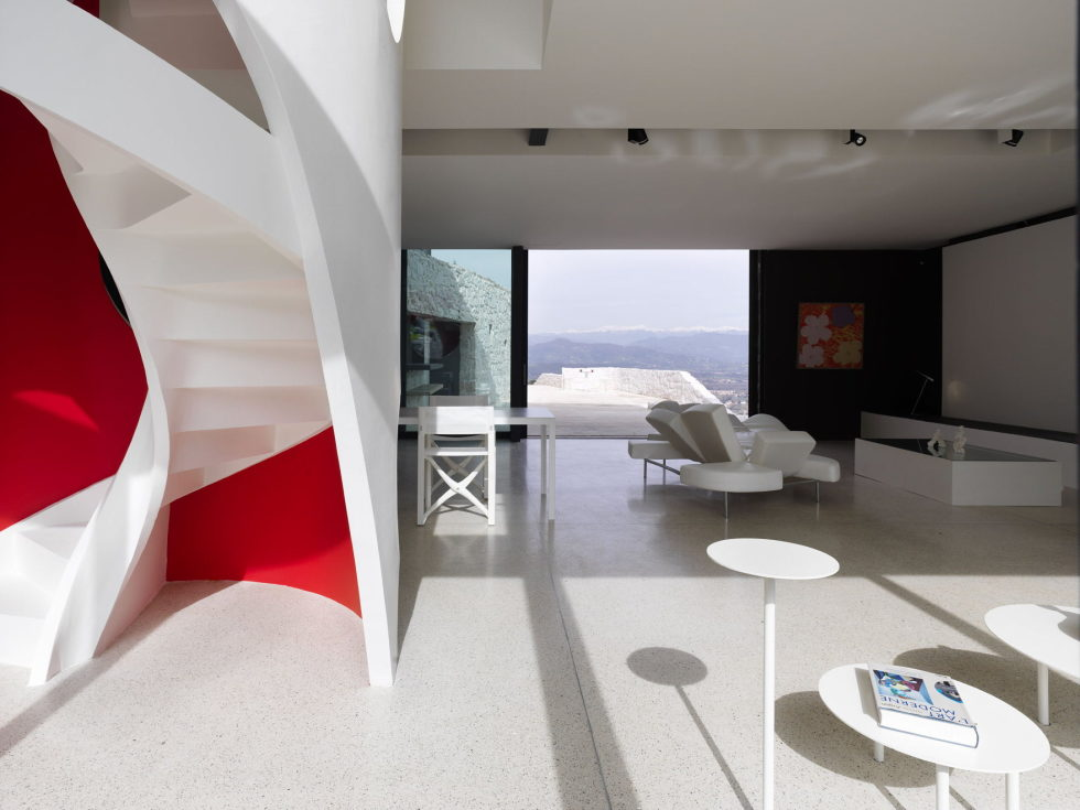 Casa Farfalla Villa In Tuscany Upon The Project Of Michel Boucquillon And Donia Maaoui 13