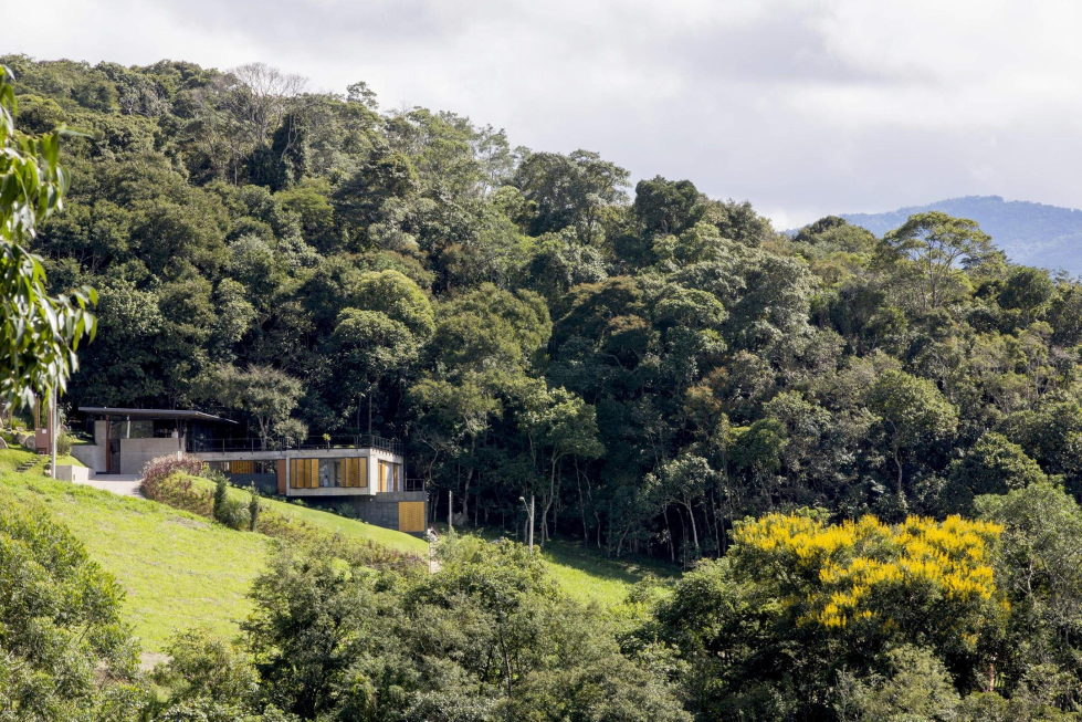 Casa Santo Antonio Manor In The Wood Reserve In Brazil From H+F Arquitetos 1