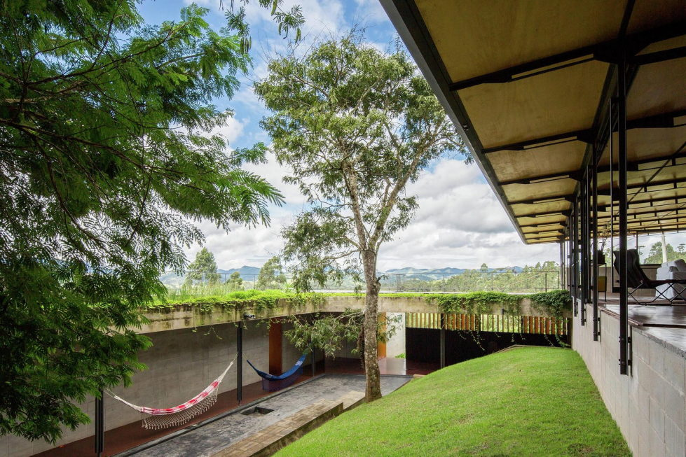 Casa Santo Antonio Manor In The Wood Reserve In Brazil From H+F Arquitetos 13