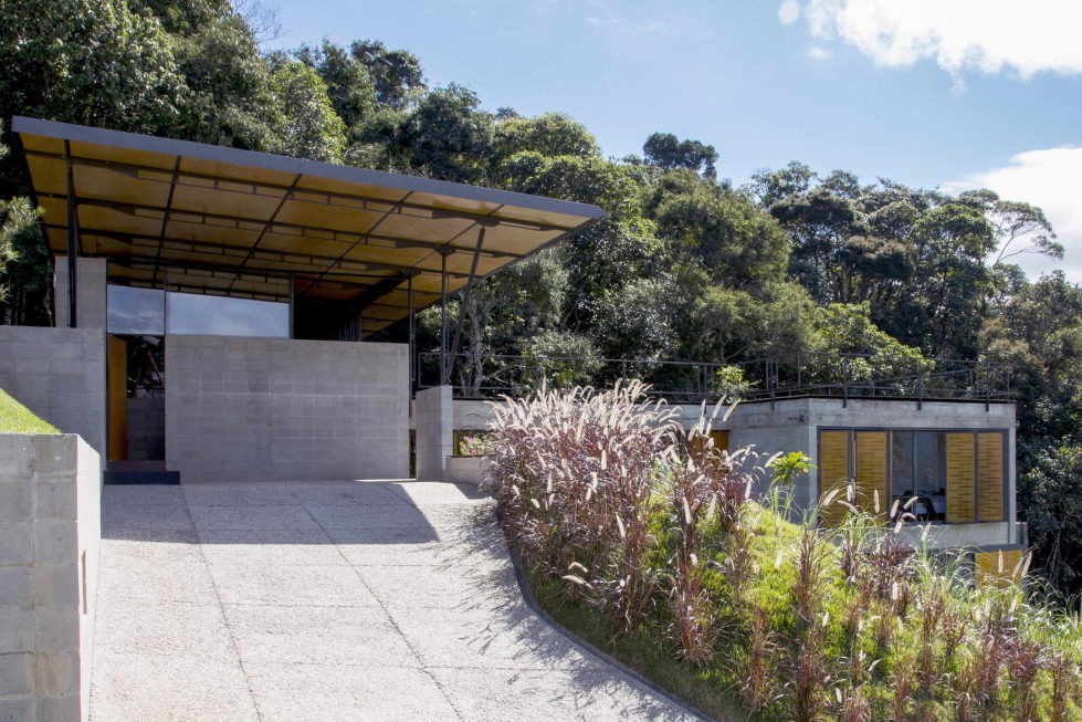 Casa Santo Antonio Manor In The Wood Reserve In Brazil From H+F Arquitetos 14