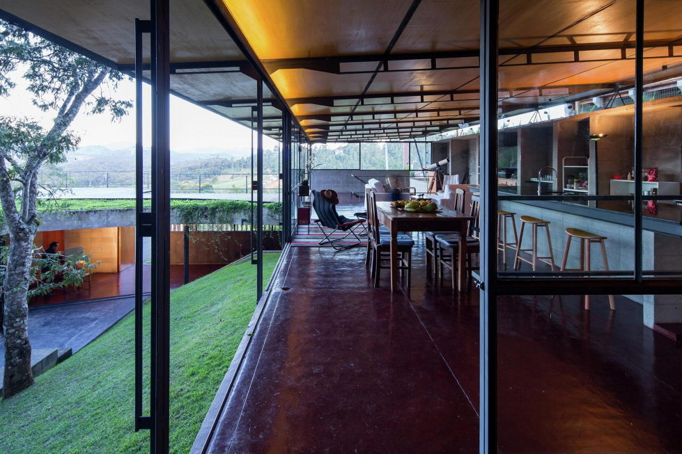 Casa Santo Antonio Manor In The Wood Reserve In Brazil From H+F Arquitetos 19