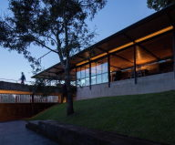Casa Santo Antonio Manor In The Wood Reserve In Brazil From H+F Arquitetos