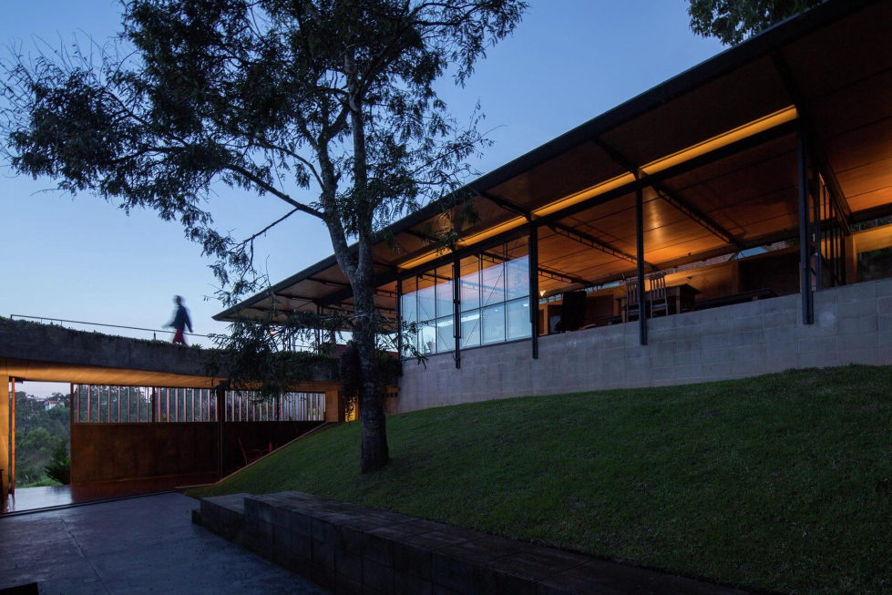 Casa Santo Antonio Manor In The Wood Reserve In Brazil From H+F Arquitetos 21
