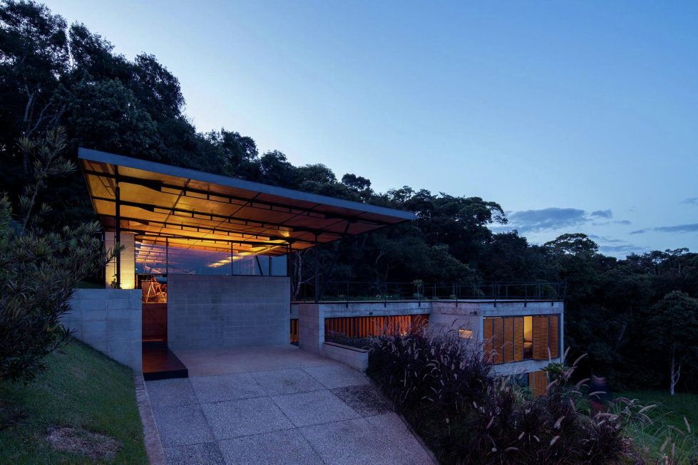 Casa Santo Antonio Manor In The Wood Reserve In Brazil From H+F Arquitetos 23