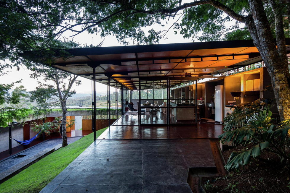 Casa Santo Antonio Manor In The Wood Reserve In Brazil From H+F Arquitetos 6