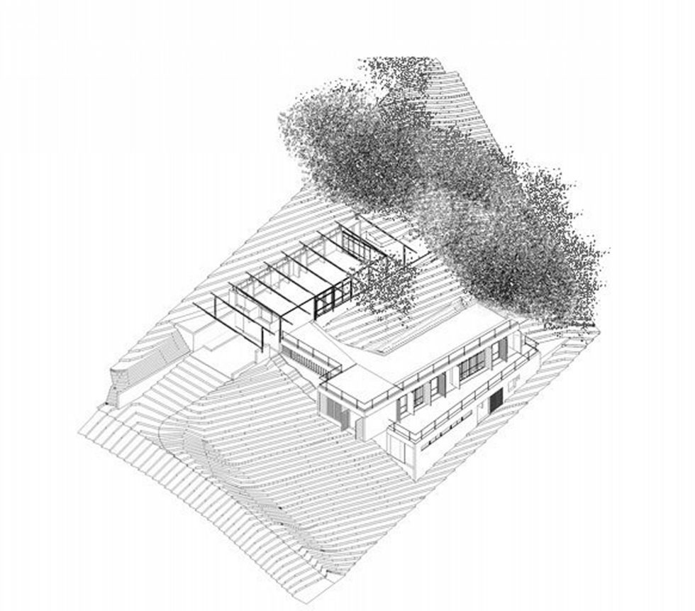 Casa Santo Antonio Manor In The Wood Reserve In Brazil From H+F Arquitetos - Plan 13