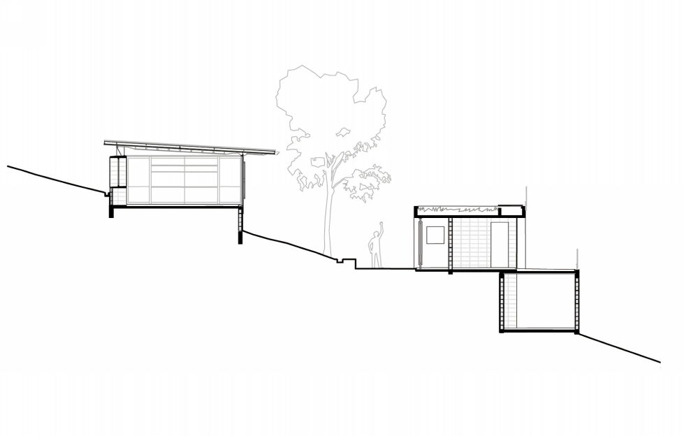 Casa Santo Antonio Manor In The Wood Reserve In Brazil From H+F Arquitetos - Plan 4