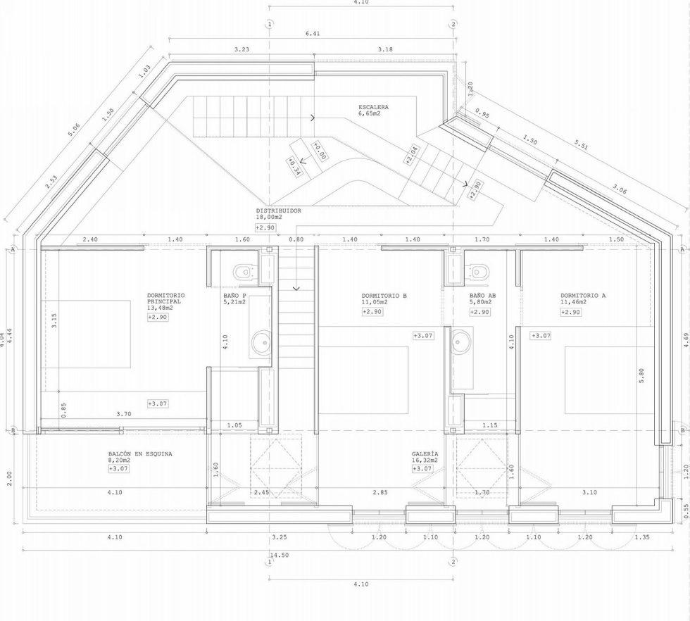 Casa Tmolo A Small Residency In Spain From PYO Arquitectos - Plan 1