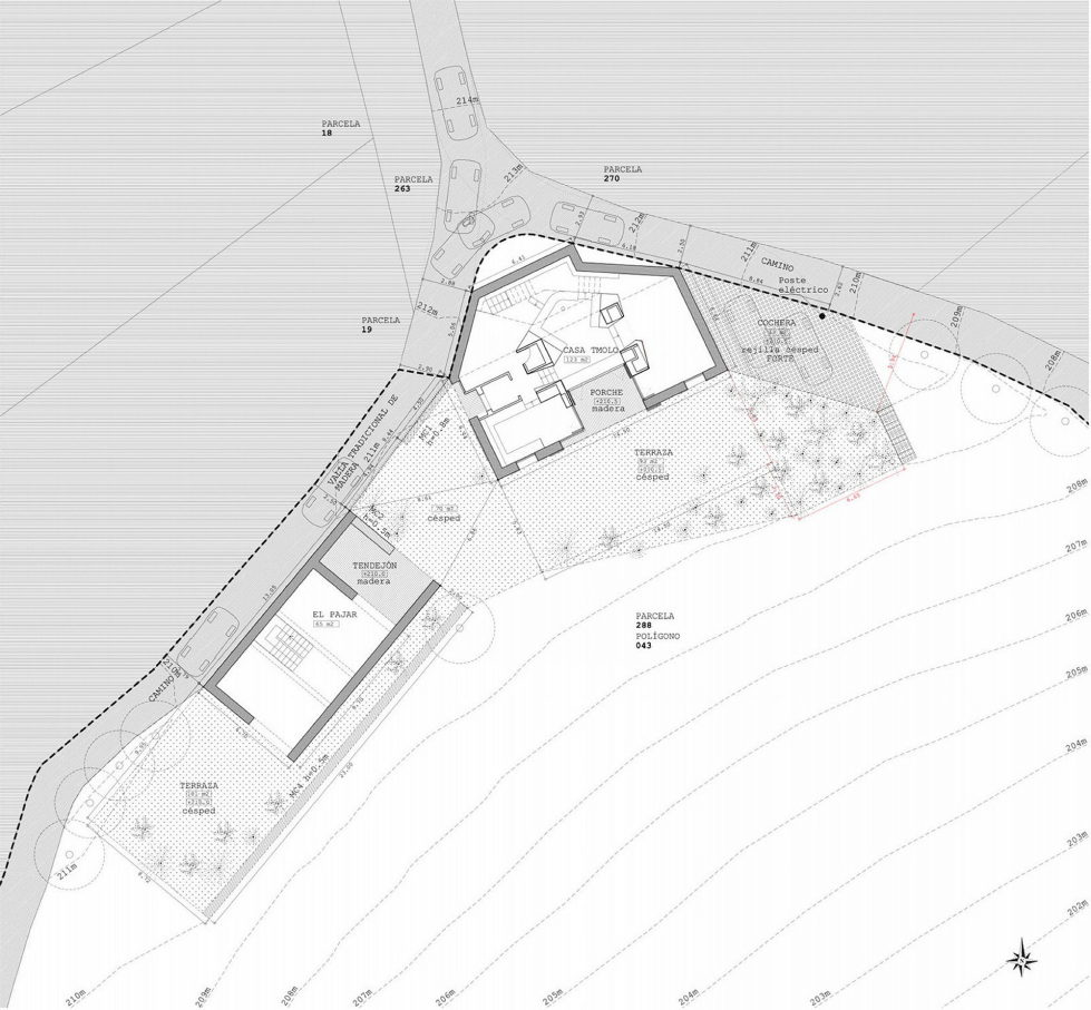 Casa Tmolo A Small Residency In Spain From PYO Arquitectos - Plan 11