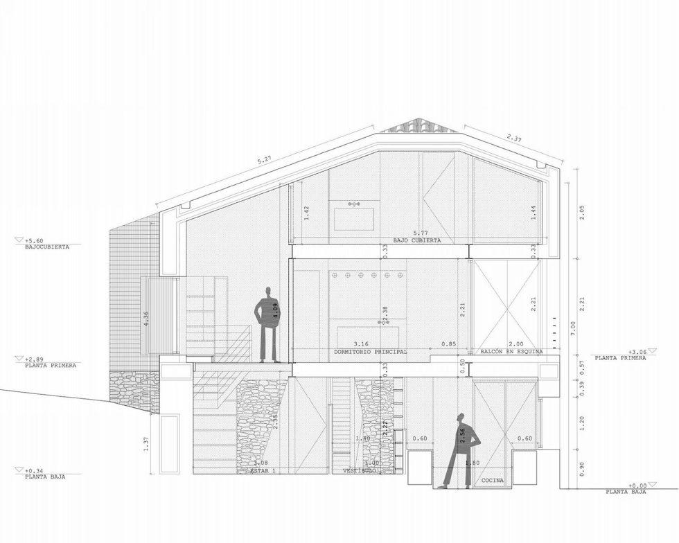 Casa Tmolo A Small Residency In Spain From PYO Arquitectos - Plan 3