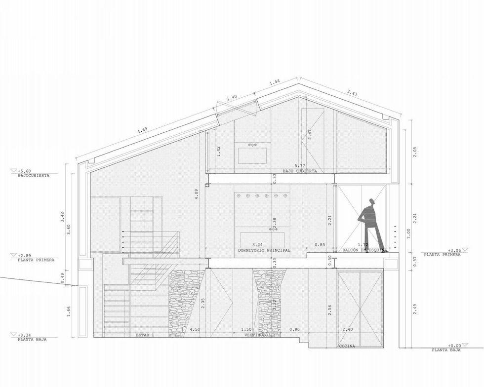 Casa Tmolo A Small Residency In Spain From PYO Arquitectos - Plan 4