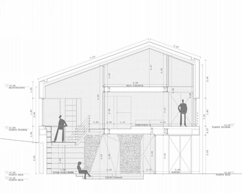 Casa Tmolo A Small Residency In Spain From PYO Arquitectos - Plan 6