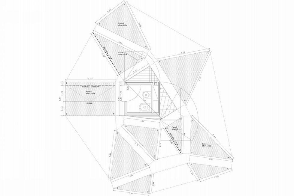 Casa Tmolo A Small Residency In Spain From PYO Arquitectos - Plan 9