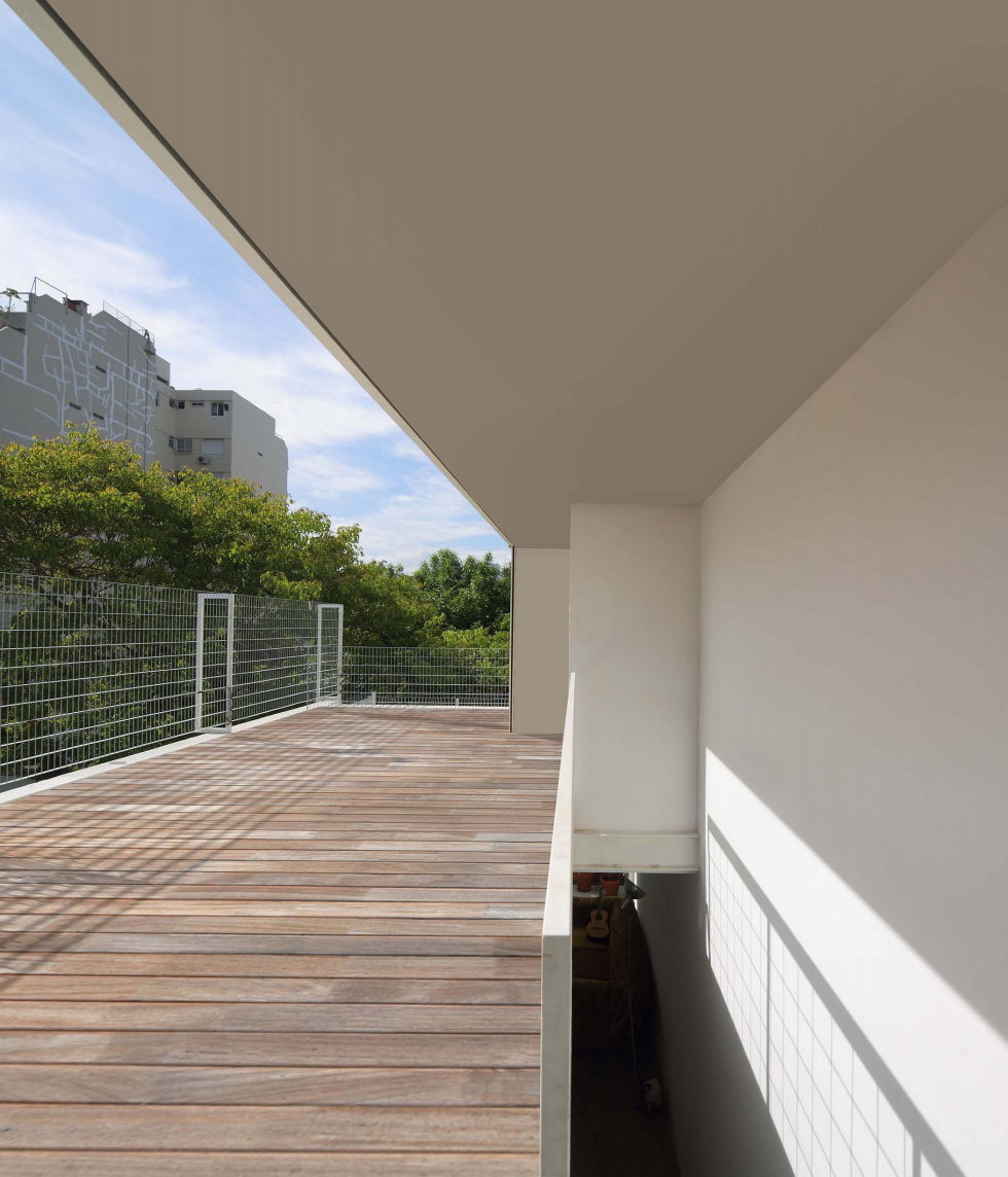 Jauretche House In Buenos Aires upon the project of Colle-Croce 12