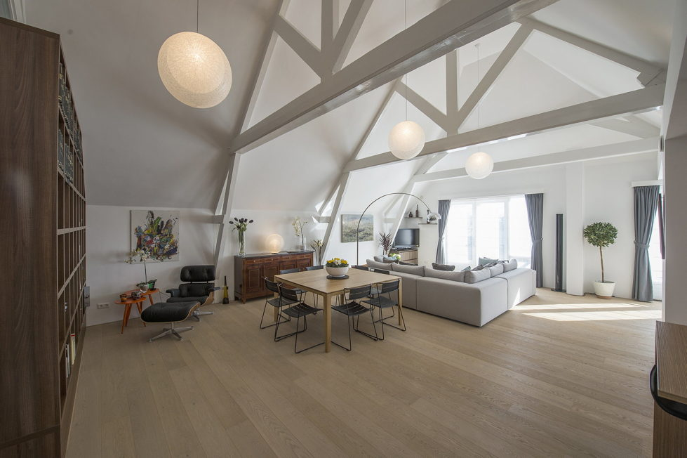 Luxury apartment Casa F in a building of former museum in Rotterdam by PENA Architecture bureau 12