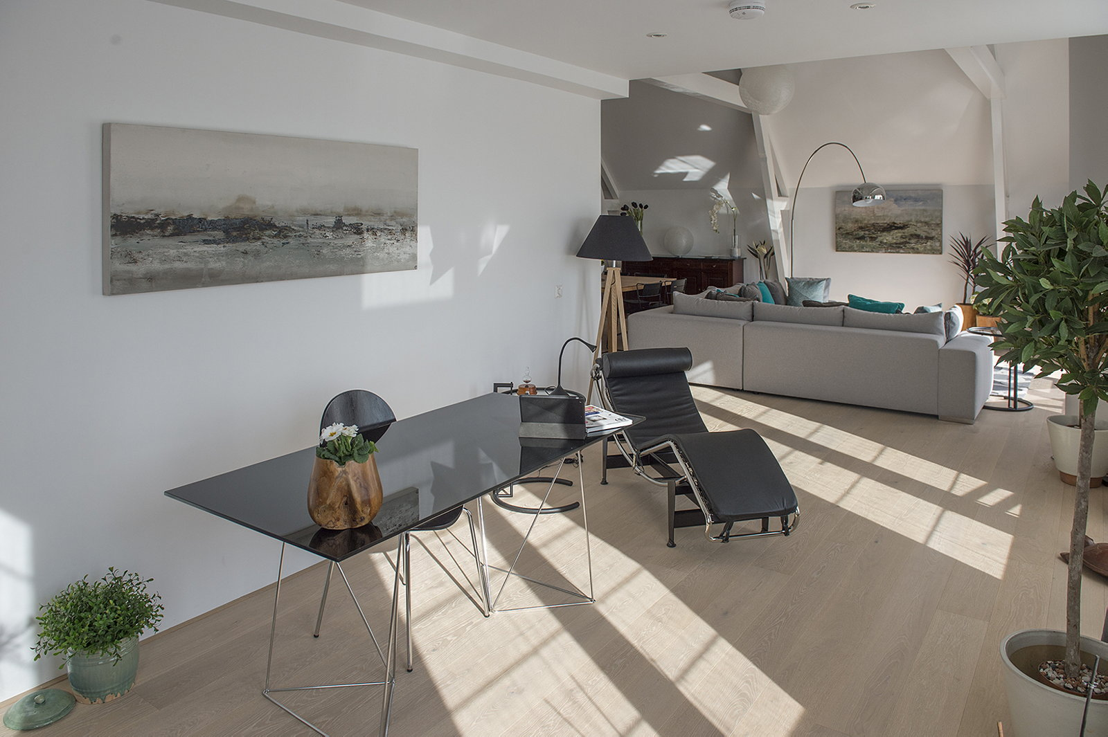 Luxury apartment casa f in a building of former museum in