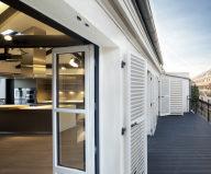 Luxury attic apartment in Paris from the MYSPACEPLANNER studio