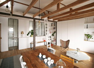 Modern Apartment Instead Of Attic Premises In Paris From Atelier DCCP Architectes