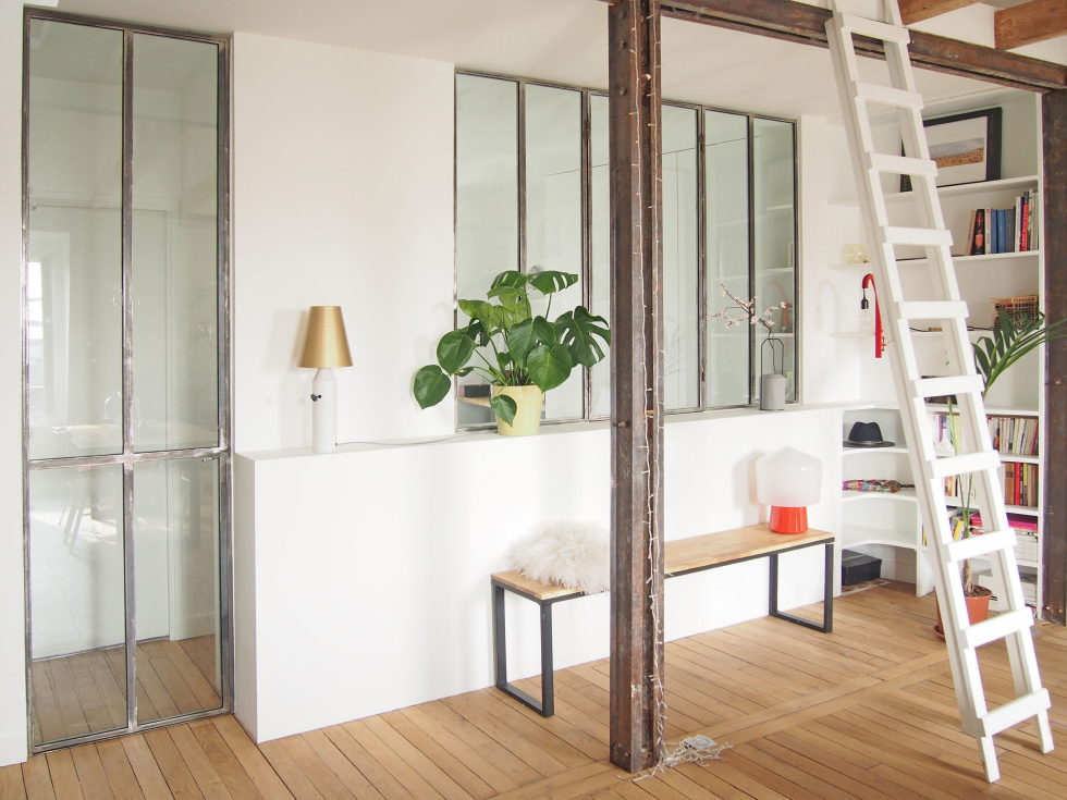 Modern Apartment Instead Of Attic Premises In Paris From Atelier DCCP Architectes 14