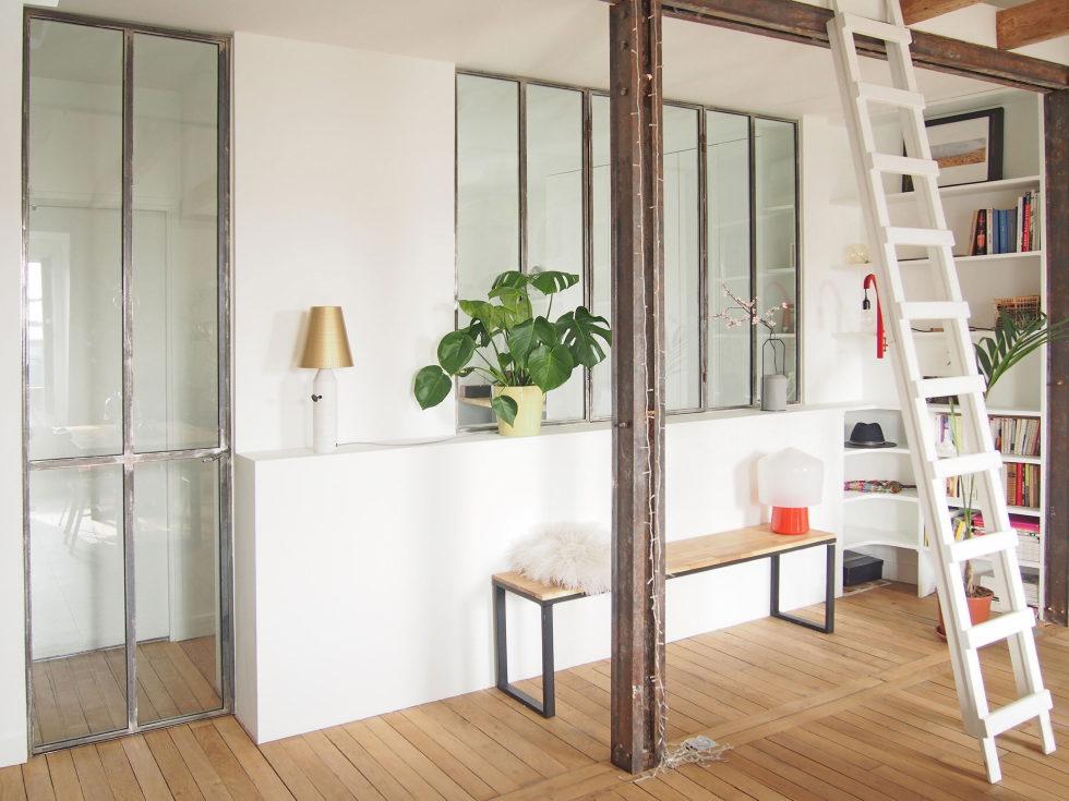 Modern Apartment Instead Of Attic Premises In Paris From Atelier DCCP Architectes 14
