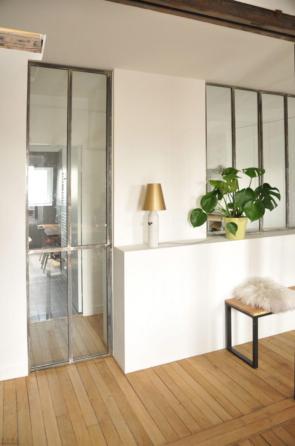 Modern Apartment Instead Of Attic Premises In Paris From Atelier DCCP Architectes 17