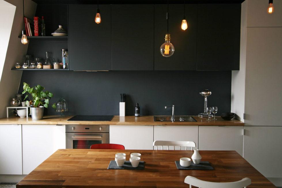 Modern Apartment Instead Of Attic Premises In Paris From Atelier DCCP Architectes 24