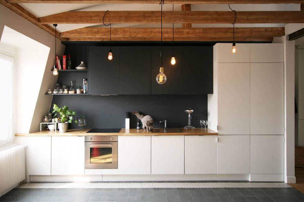 Modern Apartment Instead Of Attic Premises In Paris From Atelier DCCP Architectes 26