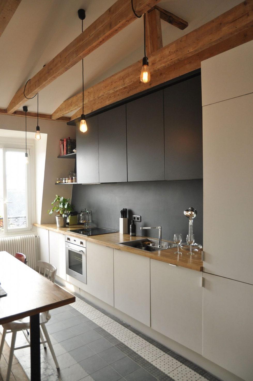 Modern Apartment Instead Of Attic Premises In Paris From Atelier DCCP Architectes 28