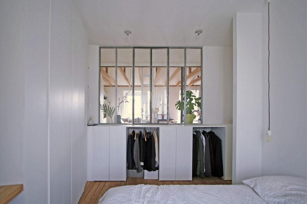 Modern Apartment Instead Of Attic Premises In Paris From Atelier DCCP Architectes 31