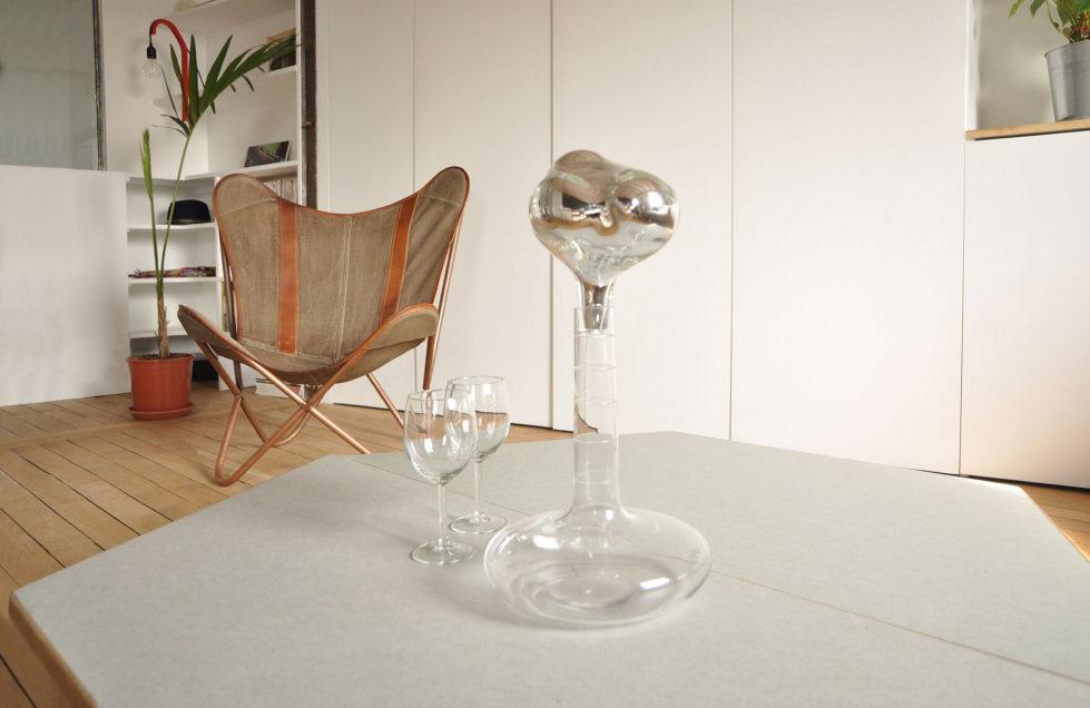 Modern Apartment Instead Of Attic Premises In Paris From Atelier DCCP Architectes 5