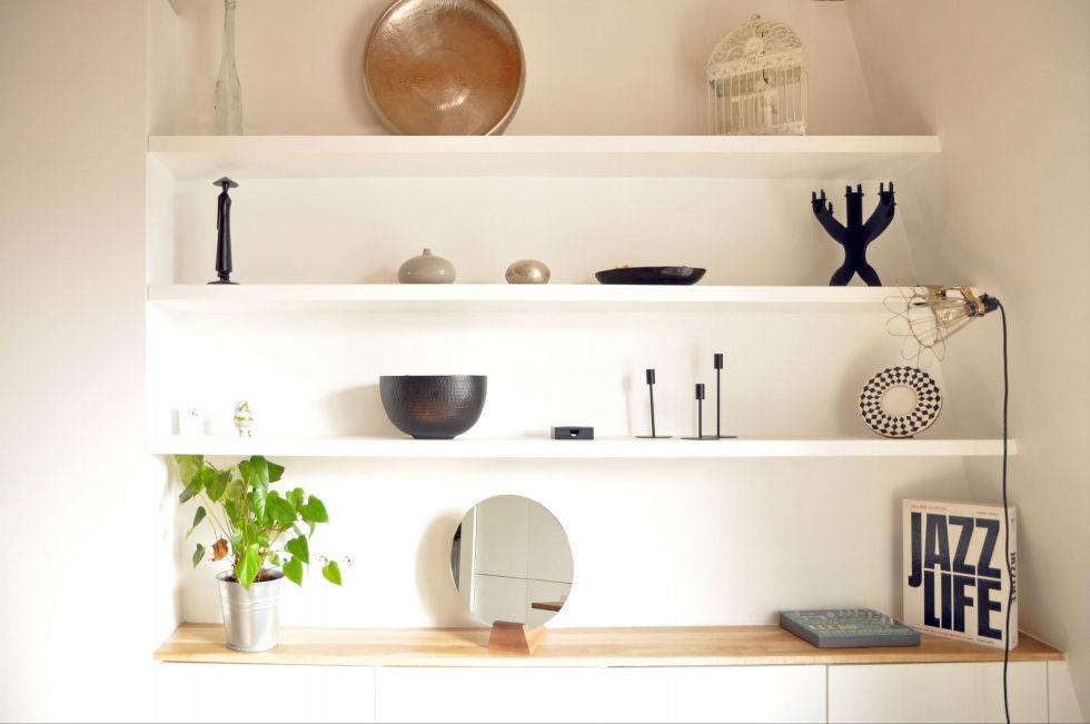 Modern Apartment Instead Of Attic Premises In Paris From Atelier DCCP Architectes 7