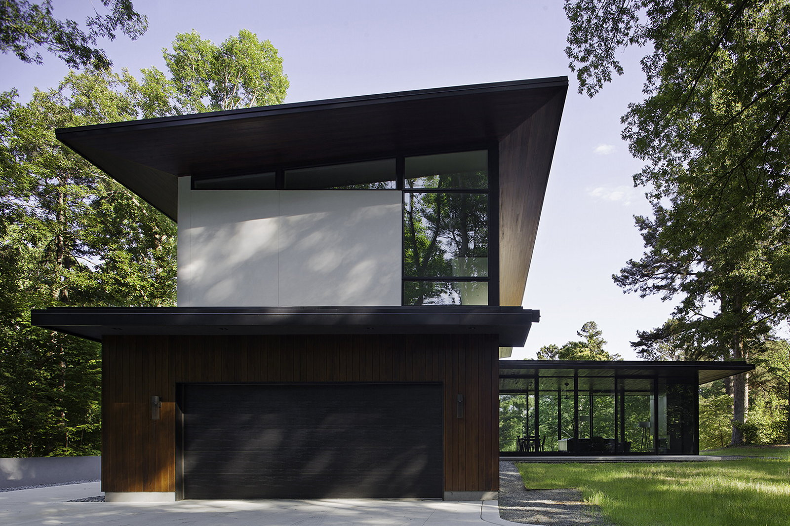 modern house clark court by in situ studio. Black Bedroom Furniture Sets. Home Design Ideas
