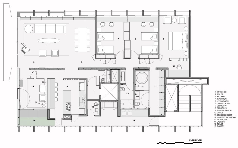 Modernization Of Apartments In Sao Paulo Upon The Project Of Couto Arquitetura Bureau - Plan 2