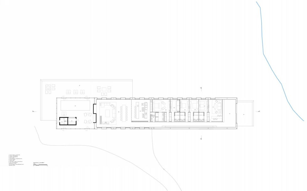 Out-Of-Town Residency Casa Mororo In Minimalism Style Upon The Project Of mk27 Studio - Plan 1