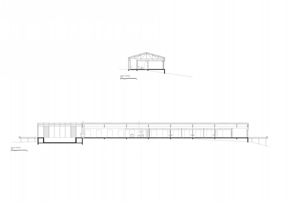 Out-Of-Town Residency Casa Mororo In Minimalism Style Upon The Project Of mk27 Studio - Plan 2