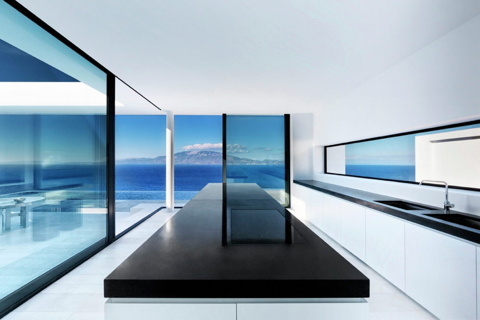 Silver House In Greece Upon The Project Of Dwek Architects Studio 13