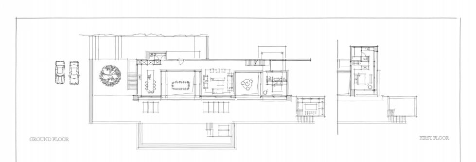 Silver House In Greece Upon The Project Of Dwek Architects Studio - Plan 1