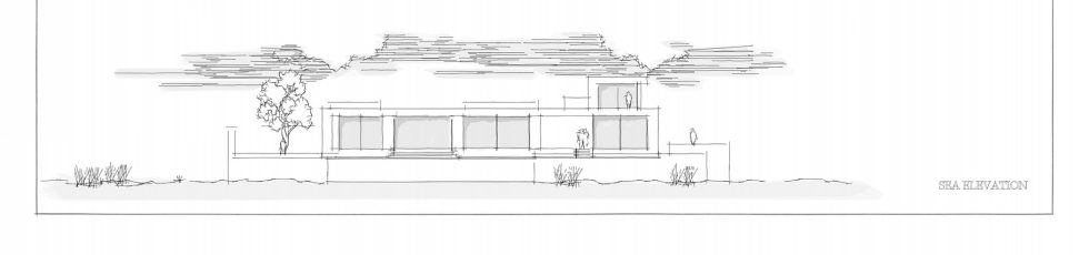 Silver House In Greece Upon The Project Of Dwek Architects Studio - Plan 2