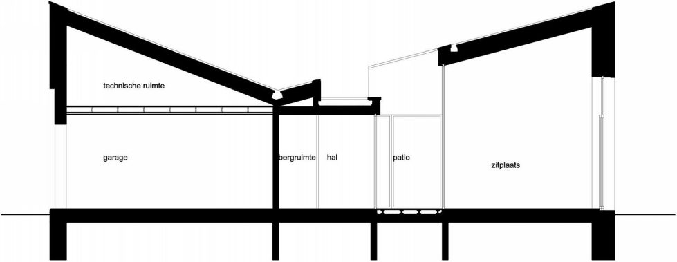 The House From Blanco Architecten In Belgium - Plan 1