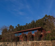 The country residence Casa de Seixas in Portugal from Castro Calapez Arquitectos studio
